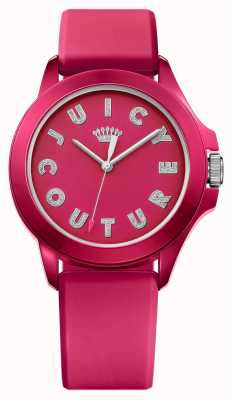 Juicy Couture goma de color rosa de línea correa de color rosa para mujer de Fergie 1901465