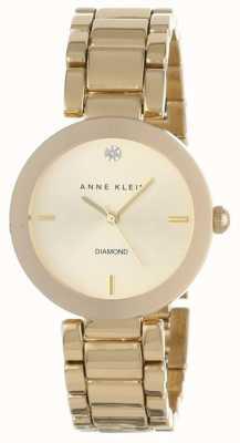 Anne Klein Pulsera de oro de la mujer AK/N1362CHGB