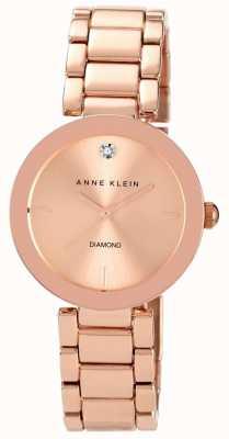 Anne Klein Pulsera de oro rosa de oro rosa AK/N1362RGRG