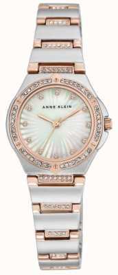 Anne Klein Pulsera de dos tonos de mujer madre de perla AK/N2417MPRT