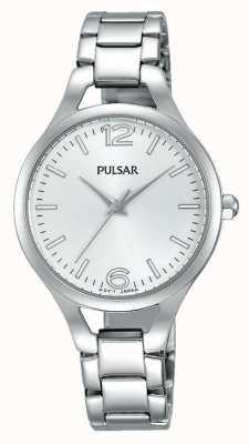 Pulsar Womans plata de acero inoxidable PH8183X1
