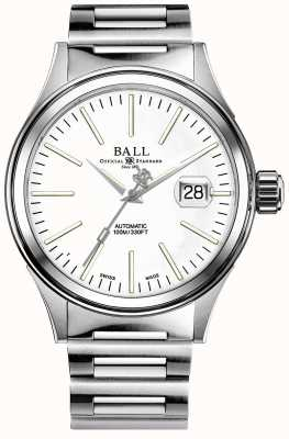 Ball Watch Company Brazalete de acero para hombre NM2188C-S5J-WH