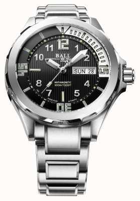 Ball Watch Company Mens ingeniero maestro ii buceador automático de acero inoxidable DM3020A-SAJ-BK