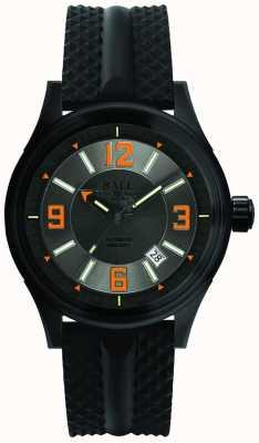 Ball Watch Company Bombero corredor dlc correa de goma automática gris dial NM3098C-P1J-GYOR