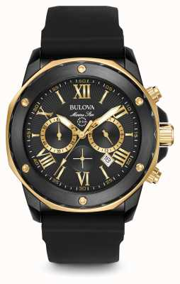 Bulova Hombre de All Star marina cronógrafo negro 98B278