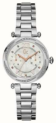 Gc Señoras de plata fecha precioso día Y06111L1