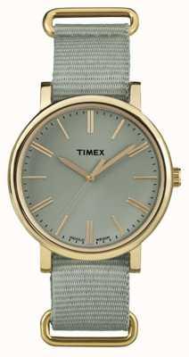 Timex Org clásico rnd sage nylon correa TW2P88500