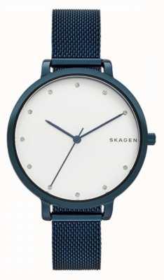 Skagen Hagen acero inoxidable azul SKW2579