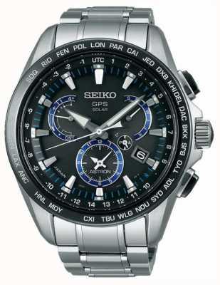 Seiko Astron gps titanium chronograph con energía solar SSE101J1