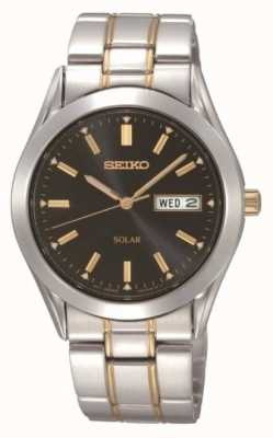 Seiko Reloj de pulsera solar para hombre SNE047P9
