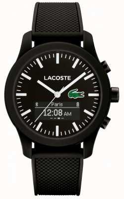 Lacoste Mens 12.12 bluetooth reloj inteligente negro verde 2010881
