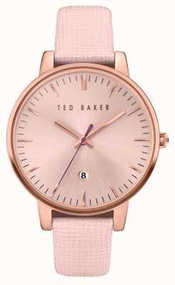Ted Baker Womans caja de oro rosa de oro rosa de línea TE10030737