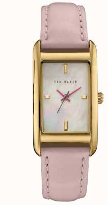 Ted Baker La mujer se levantaron de línea blanca caja de oro TE10030751