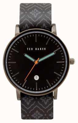 Ted Baker Caja gris del metal del arma del Mens TE10030768