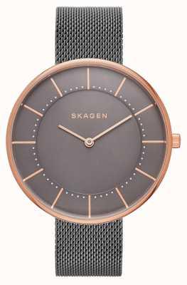 Skagen Womans gitte malla gris de oro rosa SKW2584