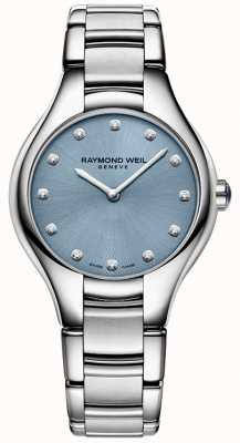 Raymond Weil Womans noemia 12 diamante azul 5132-ST-50081