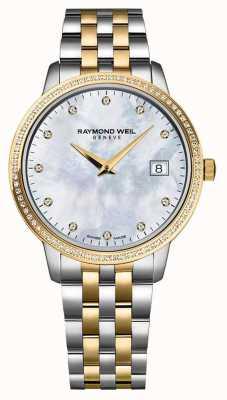 Raymond Weil Reloj toccata de mujer | correa de dos tonos de acero inoxidable / pvd | 5988-STP-97081