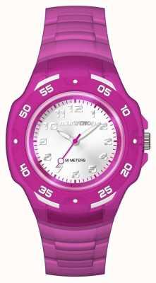 Timex Unisex analógico maratón mediados púrpura TW5M06600