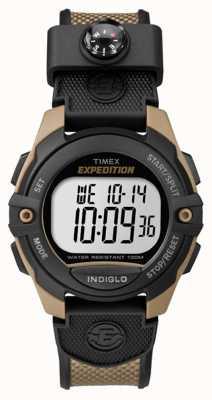Timex Reloj de alarma de cronógrafo expedición hombre marrón TW4B07800