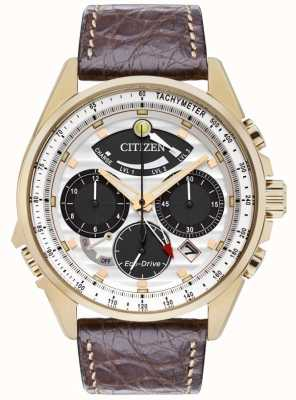 Citizen Mens calibre 2100 edición limitada de alarma del cronógrafo AV0068-08A