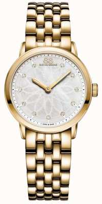 88 Rue du Rhone Dobles damas 8 origen de diamantes de oro 87WA152901