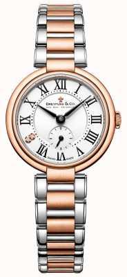señoras Dreyfuss dos tonos de oro rosa reloj 1974 DLB00159/01/L