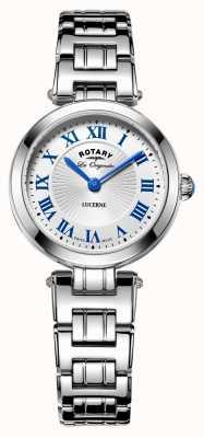 Rotary damas de alfalfa rotativos del vestido del reloj suizo LB90186/01