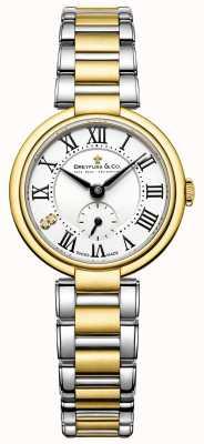 señoras Dreyfuss 1974 en dos tonos de oro reloj chapado DLB00158/01