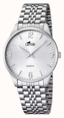 Lotus reloj para hombre con fleje de acero L15883/2