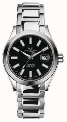 Ball Watch Company Hombre ingeniero ii automático de acero inoxidable negro dial NM2026C-S6-BK