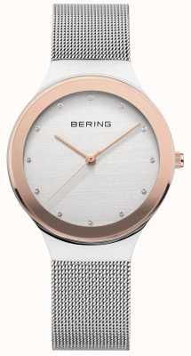 Bering Las señoras de plata / oro de malla 12934-060