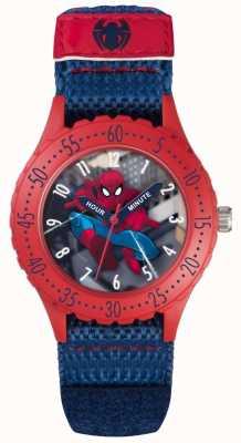 Avengers Correa azul del velcro del hombre araña de los niños SPD3495