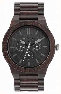 WeWood Correa negra de madera negra para hombre kappa 70315300