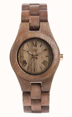 WeWood Tuerca entrecruzada para mujer | correa de madera | 70210700