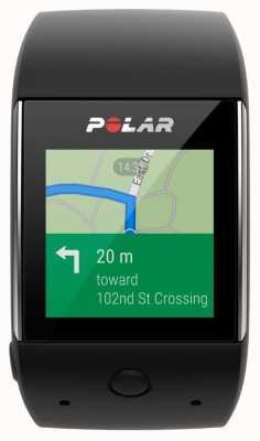 Polar M600 black android wear smartwatch 90061185