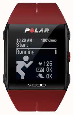 Polar V800 GPS multideporte rojo (con h) watch 90060774