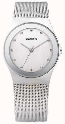 Bering Womans reloj malla de plata 12934-000