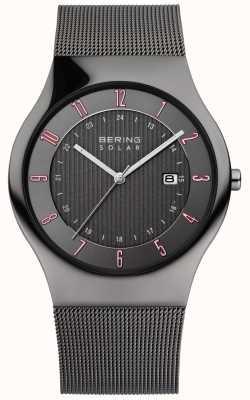 Bering Reloj para hombre clásico solar 14640-077