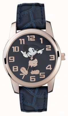 Disney Adult Correa azul Mickey Mouse rosa oro azul MK1456