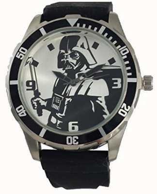 Star Wars guerra de las galaxias Darth Vader correa de negro DAR1017