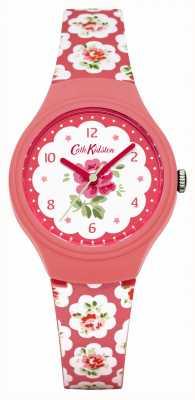 Cath Kidston señoras de Rose Provenza rosa impreso reloj CKL025P
