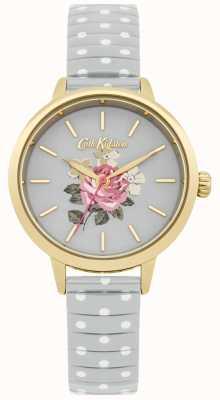 Cath Kidston Reloj de mujer gris lunares richmond CKL009EG