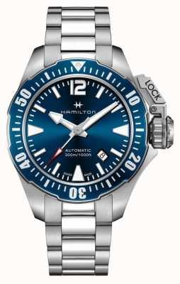 Hamilton Caqui hombre rana azul marino H77705145