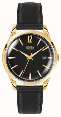 Henry London Unisex negro westminster HL39-S-0176