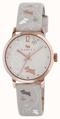 Radley reloj de la correa impresa RY2342