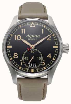Alpina Mens Startimer gris piloto AL-280BGR4S6