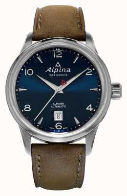 Alpina Mens Alpiner azul automática AL-525N4E6