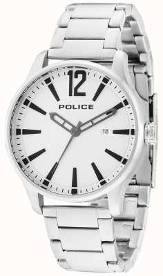 Police Mens Dallas billete de acero inoxidable 14764JS/04M