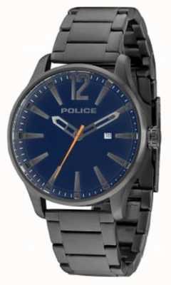 Police Mens Dallas tocho arma esfera azul 14764JSU/03M