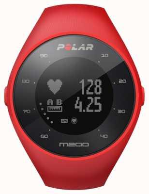 Polar Unisex rojo m200 gps m / l muñeca hora 90061217